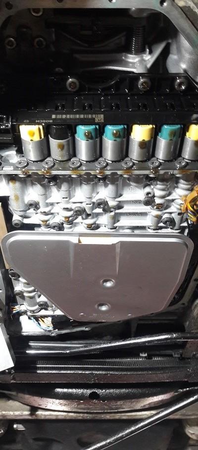 Wymiana oleju w automatycznej skrzyni biegów 24