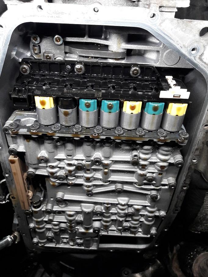 Wymiana oleju w automatycznej skrzyni biegów 2