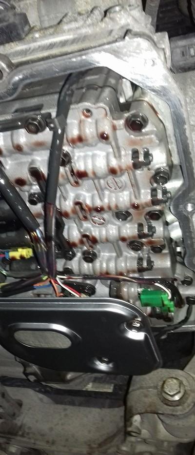 Wymiana oleju w automatycznej skrzyni biegów 27