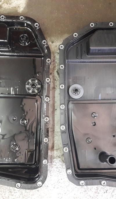 Wymiana oleju w automatycznej skrzyni biegów 17